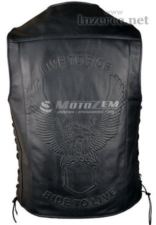 Kožená vesta na motorku RSA Orel