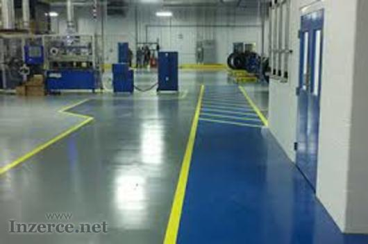 Lité epoxidové podlahy