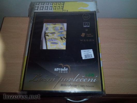 Ložní povlečení arcade color mikrofáser