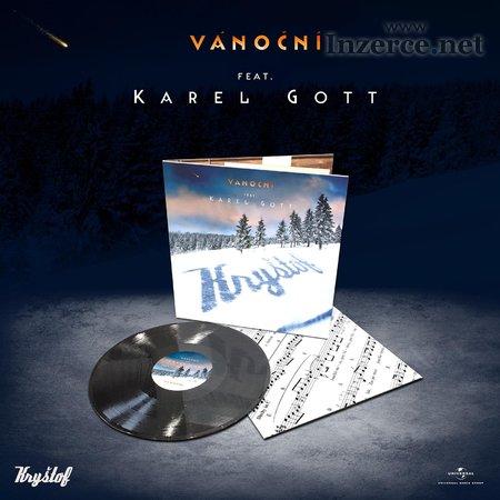 LP deska Kryštof + Karel Gott - Vánoční - RARITA