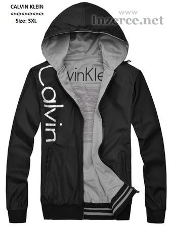 Luxusní bunda s kapucí Calvin Klein