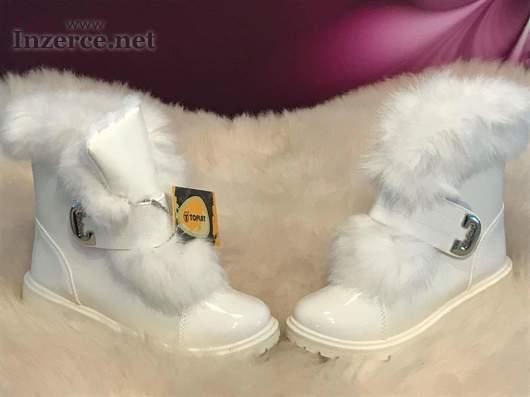 Luxusní zimní boty