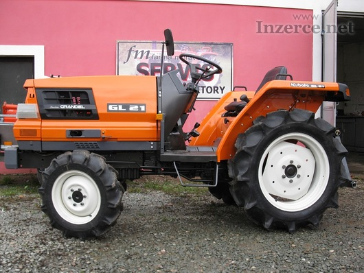 Malotraktor Kubota GL 21 Grandel