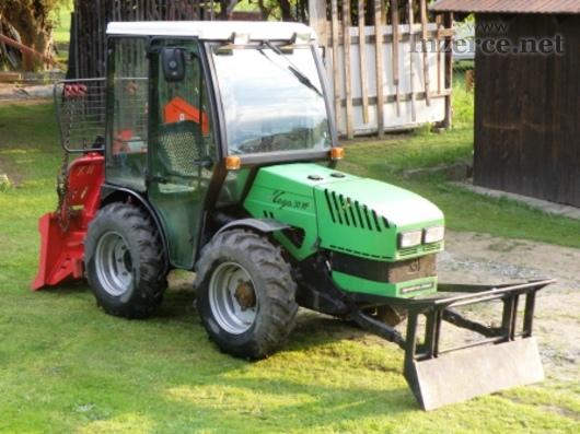 Malotraktor Vega 30HP s lesnickou nástavbou