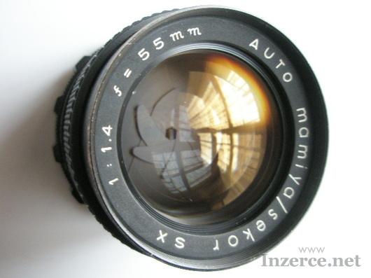 MAMIYA SEKOR - 1,4/55 - M 42mm