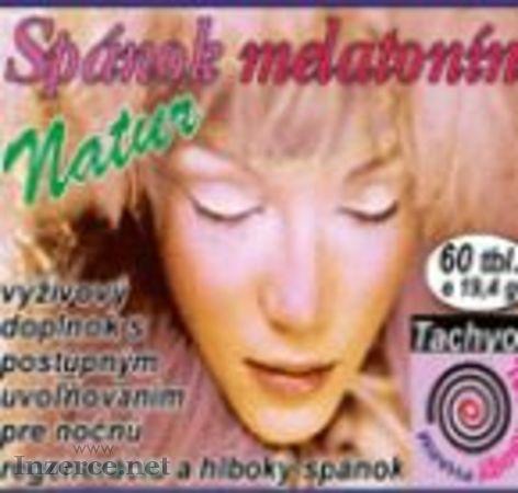 Melatonín přímo od slovenského výrobce
