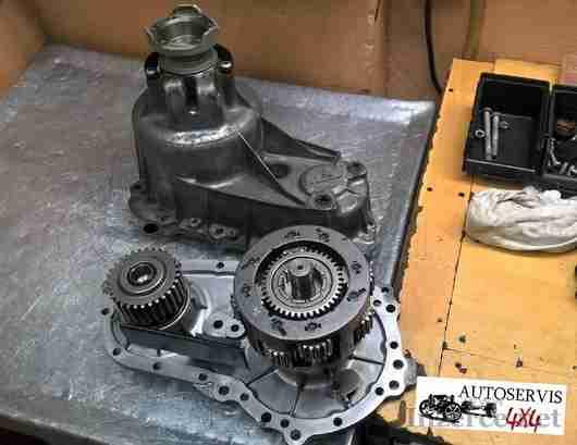 Mercedes ML W163, W164, W211, S203, rozvodovka
