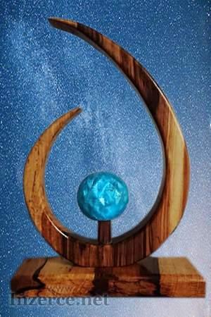 Měsíční Svit / lampička / dekorativní předmět