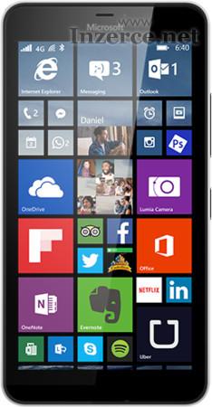 Microsoft Lumia 640 XL LTE černý