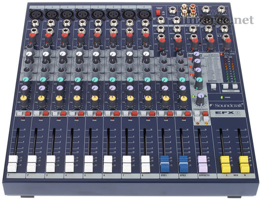 Mixpult Soundcraft EFX 8