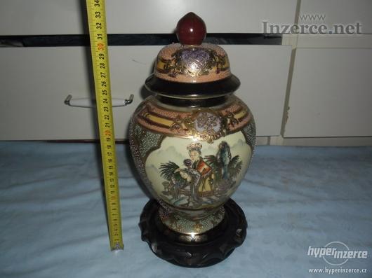 Nádherná čínská váza-zn.SATSUMA MADE IN CHINA
