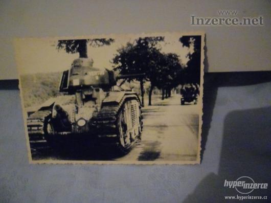 Německý tank - foto