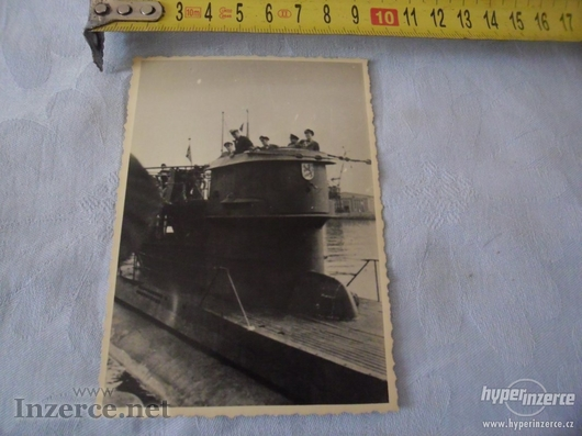 Němečtí důstojníci - vojáci na ponorce