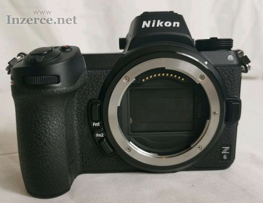 Nikon Z6 Mirrorless fotoaparát s adaptérem