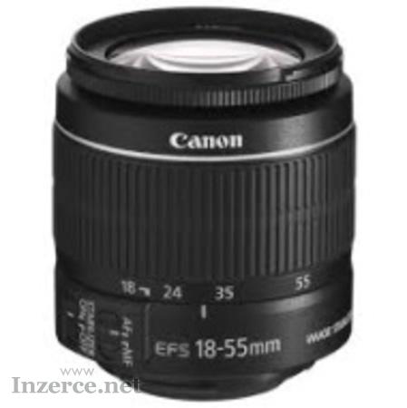 Objektiv Canon EF-S 18-55mm f/3,5-5,6 IS - SLEVA