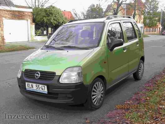 Opel AGILA havarovaná na díly