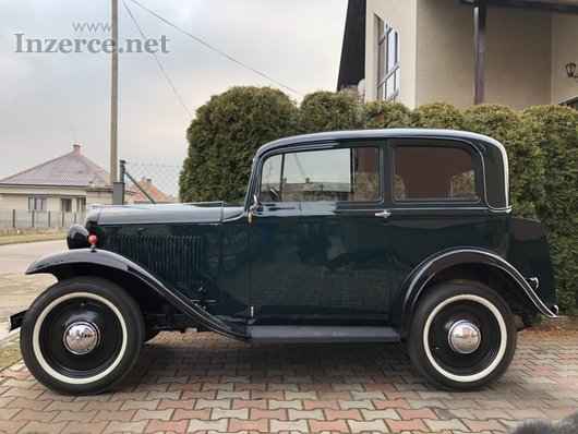 Opel P4, 1,2 litre - typ 1210, r.v. 1933