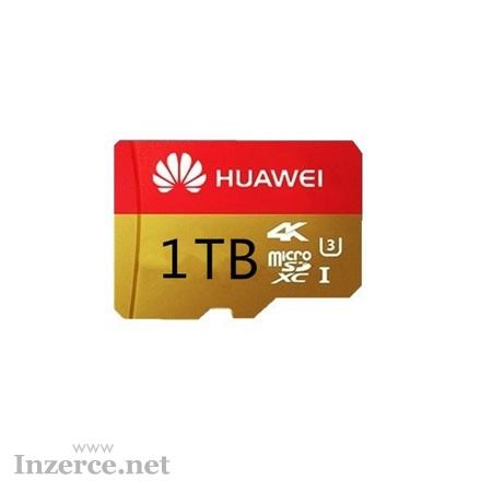 Pamětová karta MICRO SDXC 1 TB + SD a USB adapte