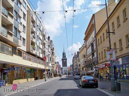 Pardubice - tř. Míru (pěší zóna)