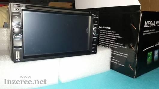 Pěkné Autoradio s DVD 2DIN USB, Card reál foto