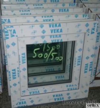 Plastové okno 50x50 bílé