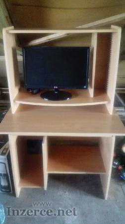 Počítačový stůl + monitor LG