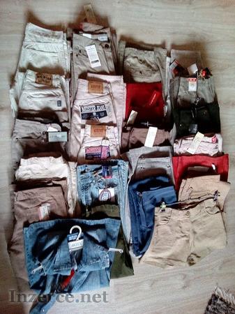 Pozor!! prodám LEVNĚ 24ks nových kalhot.