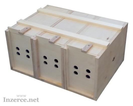 Přenoska přepravní box pro holuby