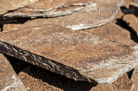 Přírodní kámen Rula zlatohnědá