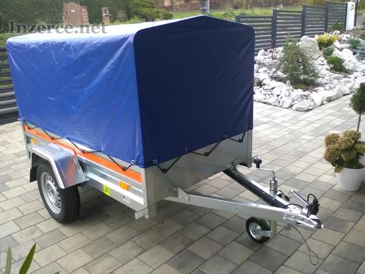 Přívěsný vozík , NOVÝ 750kg, ALKO, KNOTT náprava
