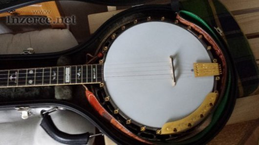 Prodám 5-tistrunné banjo Janish Virtuos,Top Tensio