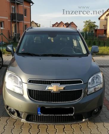 Prodám Chevrolet Orlando, 1,8 benzin (104 kW)