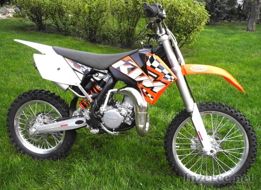 Prodám crossku KTM 85 SX (19x16)