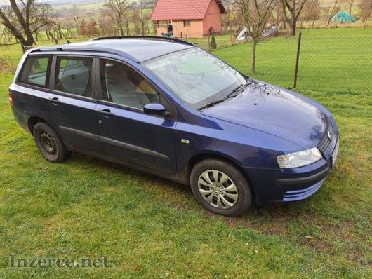 Prodám Fiat Stilo 1,6 kombi benzín r.v.2004