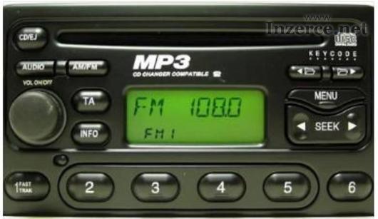 Prodám Ford rádio