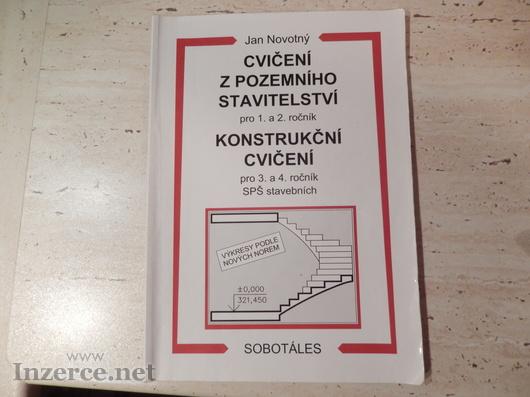 Prodám učebnici Cvičení z pozemního stavitelství