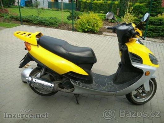 Prodám/vyměnim Yuki Hawk/125ccm, 4T