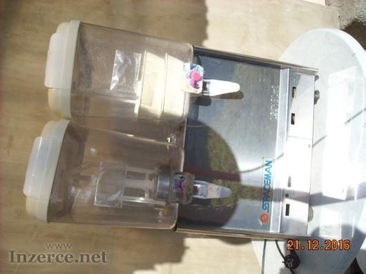 Prodám výrobník a vířič chlazených nápojů (2x 12L)