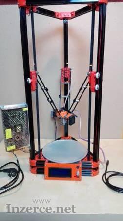 Prodám zánovní delta 3D tiskárnu