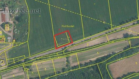 Prodej stavebního pozemku 1455m2