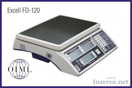 Prodejní váha EXCELL FD-120