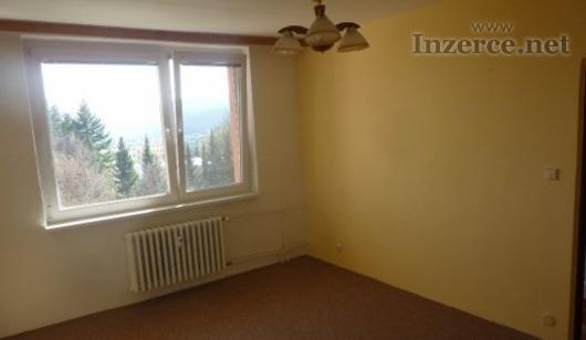 Pronájem bytu 1+1 s krásným výhledem v Brně-Komíně