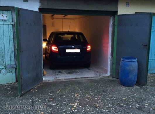 Pronájem garáže v Mostě, J. Seiferta