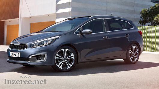 Pronájem KIA Motors CEED Combi 1,4 73 kW 2018
