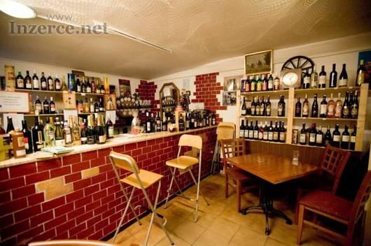 Pronájem komerčního prostoru - vinoteka