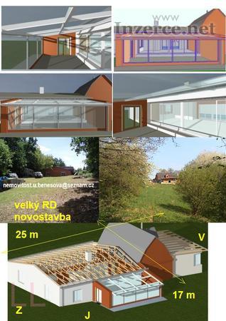 RD v přírodě(novostavba),320m2,pozemek4802m2+BAZÉN