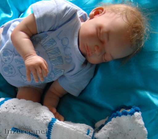 Reborn miminko, realistická panenka