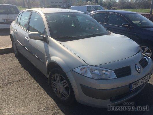 Renault Megane, lehce havarovane