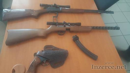 Revolver Taurus, malorážky F. Llipietta a Norinco
