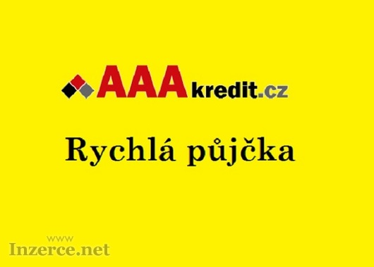 Rychlá půjčka AAA Kredit